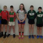 U12/13 League Finalists Clooney Quin and Tuamgraney, Matthew Coughlan, Cathal Leamy, Cormac Hale, Jerry O'Connor, Ellen Collins, Jack Madden, Paul Rodgers, Donnacha Crotty, Matthew Crotty.