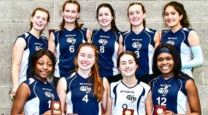 Back Row Left to Right: Úna Ní Choileáin, Róisín Moore, Lily Hughes Keane, Edith Kearney, Maria Jones. Front Row Left to Right: Serodie Luyinduladio, Eimear Kilroy, Rhona Kearney, Emma Ikiebey