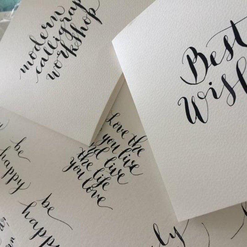 Modern calligraphy for beginners with eithna joyce clare fm