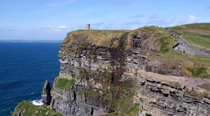 cliffs of moher welcomed 1 4 million visitors last year clare fm
