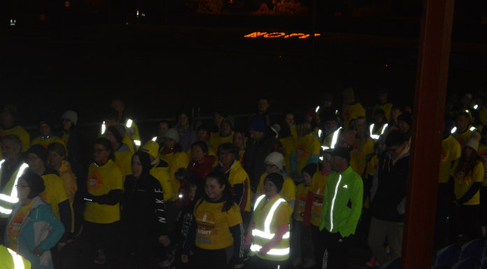 Hundreds turn out in Leitrim for Darkness into Light