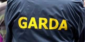 back of garda jacket